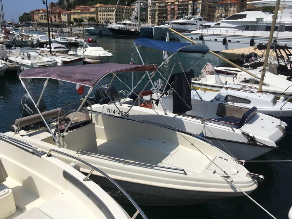Verhuur Motorboot in Nice - Karel Open 450