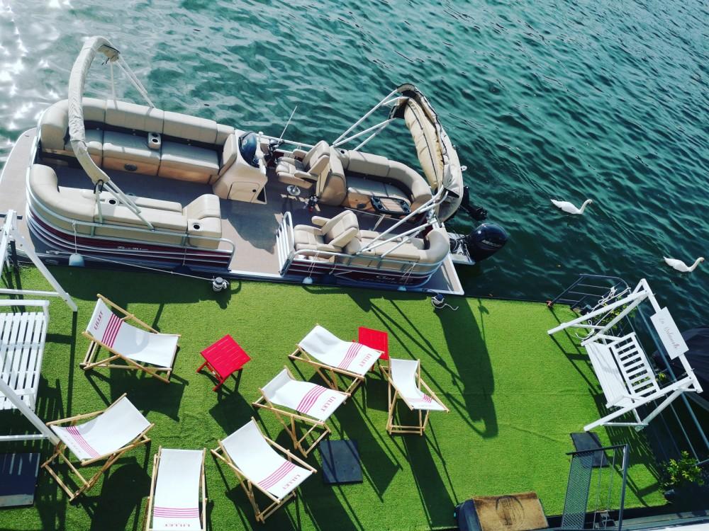 Jachthuur in Parijs - Suntracker Party Barge 24 via SamBoat