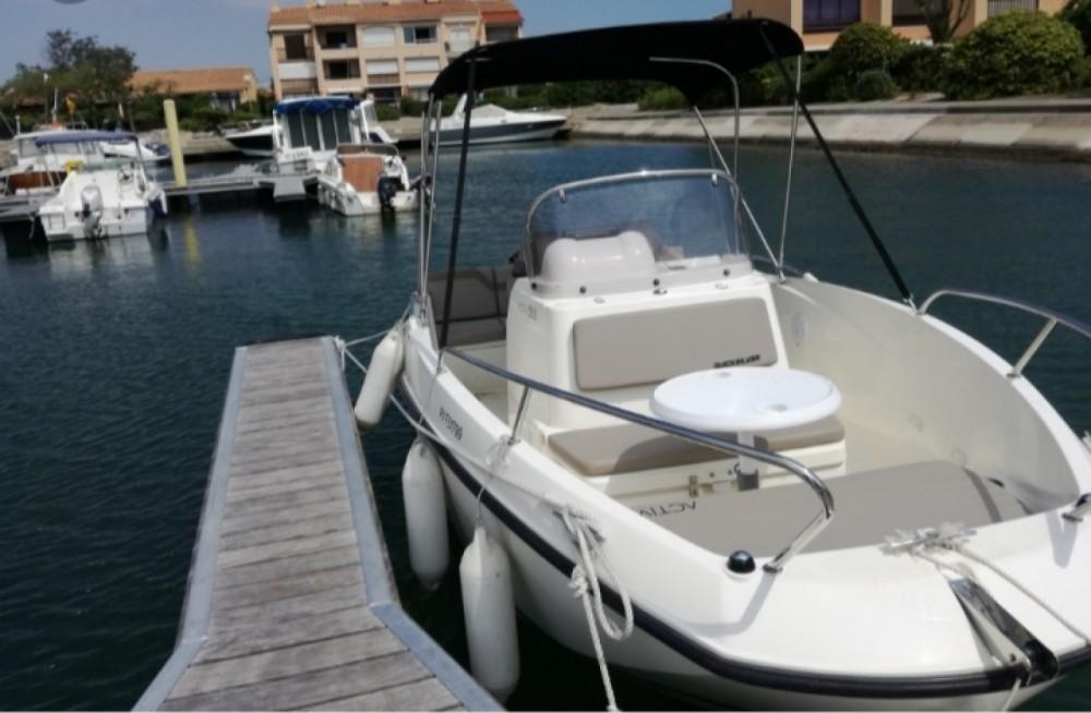 Verhuur Motorboot in Marseille - Quicksilver Activ 535 Open