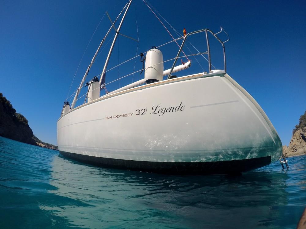 Jachthuur in Santa Eulària des Riu - Jeanneau Sun Odyssey 21 I Legend via SamBoat