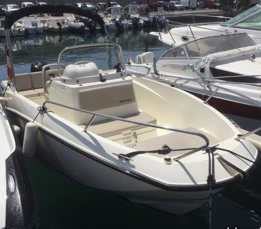 Location bateau Quicksilver Quicksilver 555 Activ Open à Marseille sur Samboat
