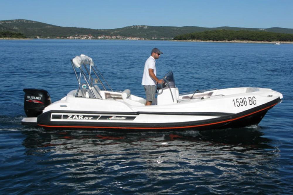 Huur Rubberboot met of zonder schipper Zar Formenti in Biograd na Moru