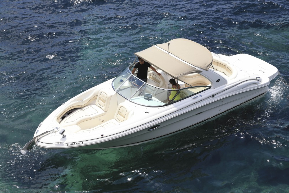 Jachthuur in Balearische Inseln - Sea Ray 290 Bow Rider via SamBoat