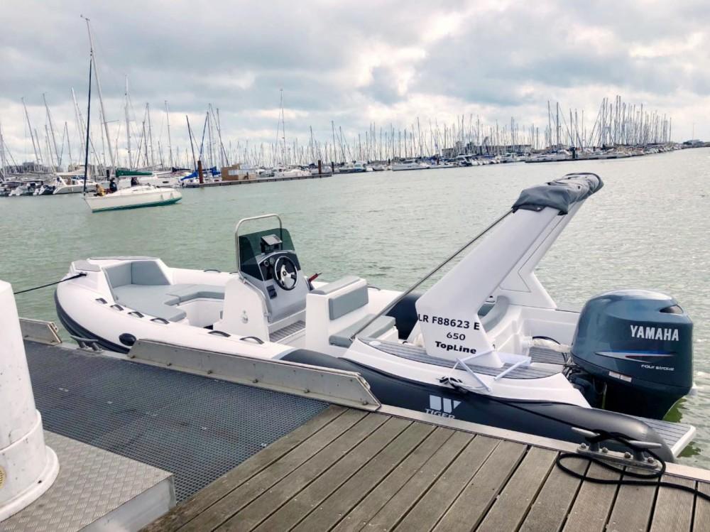 Rental RIB in La Rochelle - Tiger Top Line 650