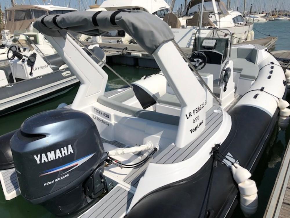 Rental yacht La Rochelle - Tiger Top Line 650 on SamBoat