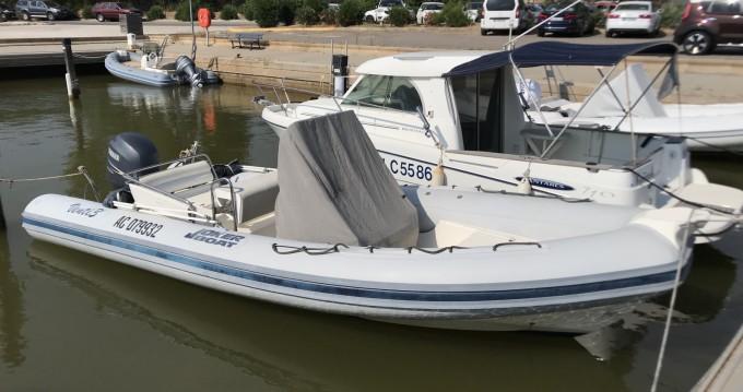 Location bateau Hyères pas cher Clubman 23
