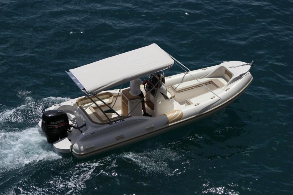 Huur Rubberboot met of zonder schipper Bsc in Bol