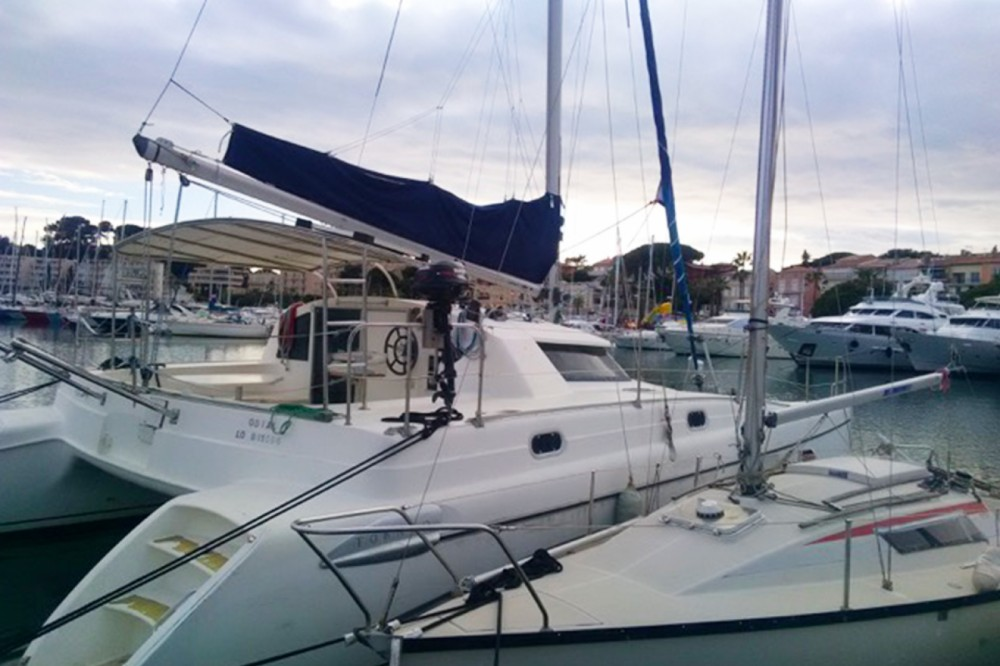 Boat rental Fountaine Pajot Tobago 35 in Bandol on Samboat