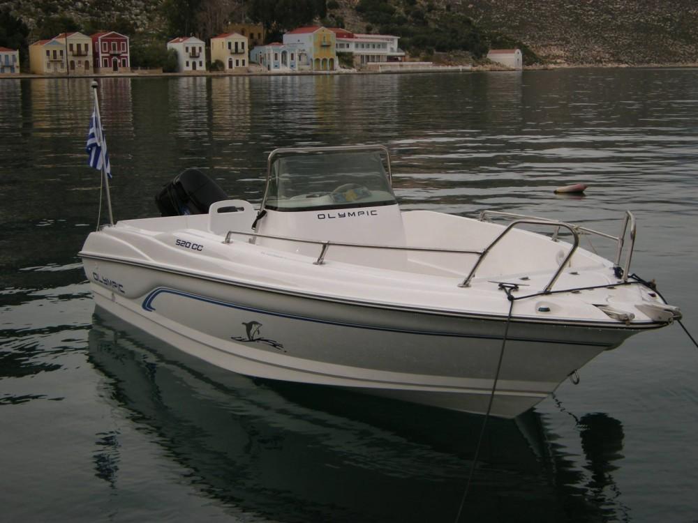 Louer Bateau à moteur avec ou sans skipper Olympic à Megísti