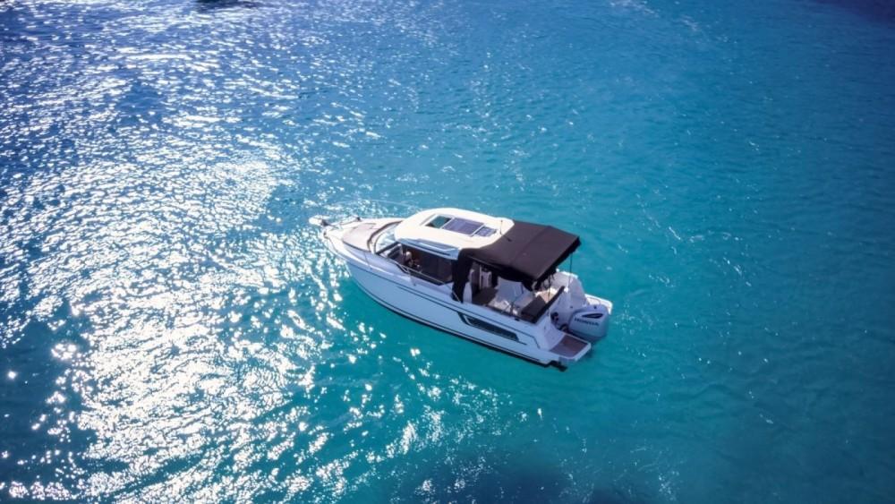 Verhuur Motorboot in Saint-Mandrier-sur-Mer - Jeanneau Merry Fisher 795