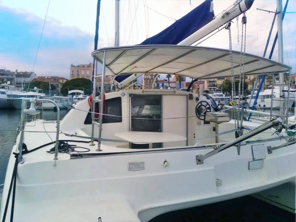 Rent a Fountaine Pajot Tobago 35 Bandol