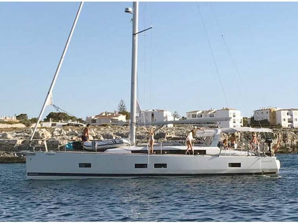 Bénéteau Oceanis 55 entre particuliers et professionnel à Porto-Vecchio