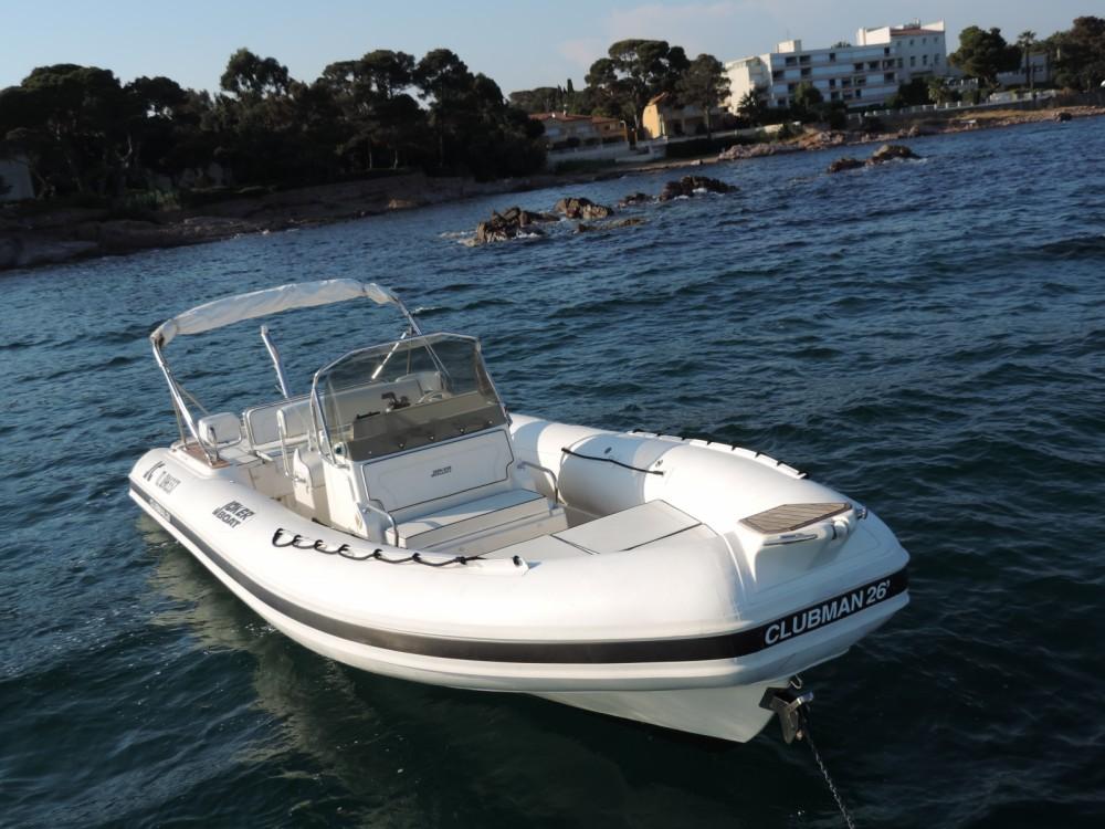Bootverhuur Joker Boat Clubman 26 in Sainte-Maxime via SamBoat