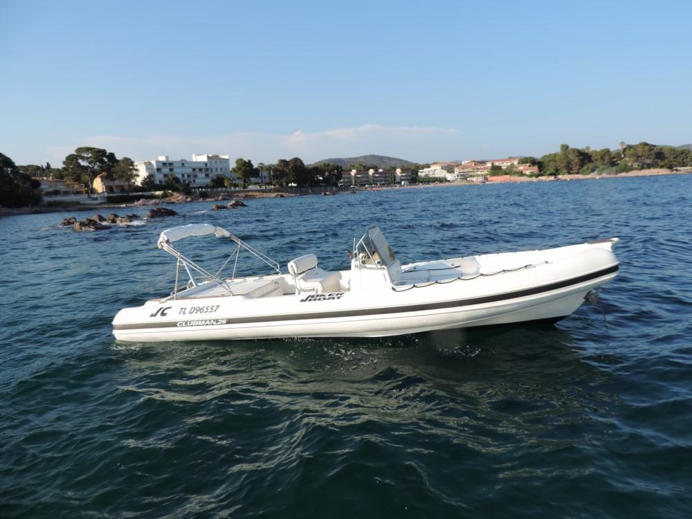 Huur een Joker Boat Clubman 26 in Sainte-Maxime