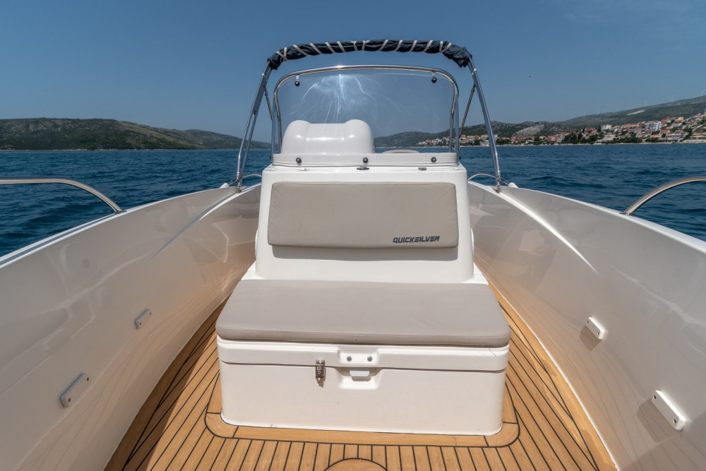 Verhuur Motorboot in Trogir - Quicksilver Activ 555 Open
