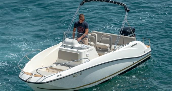Location bateau Split pas cher Activ 555 Open