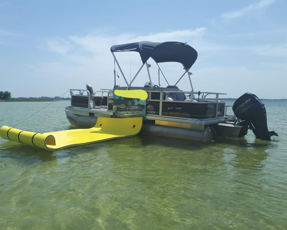 Location Bateau à moteur à Sanguinet - Sun Tracker Bass Buggy 18