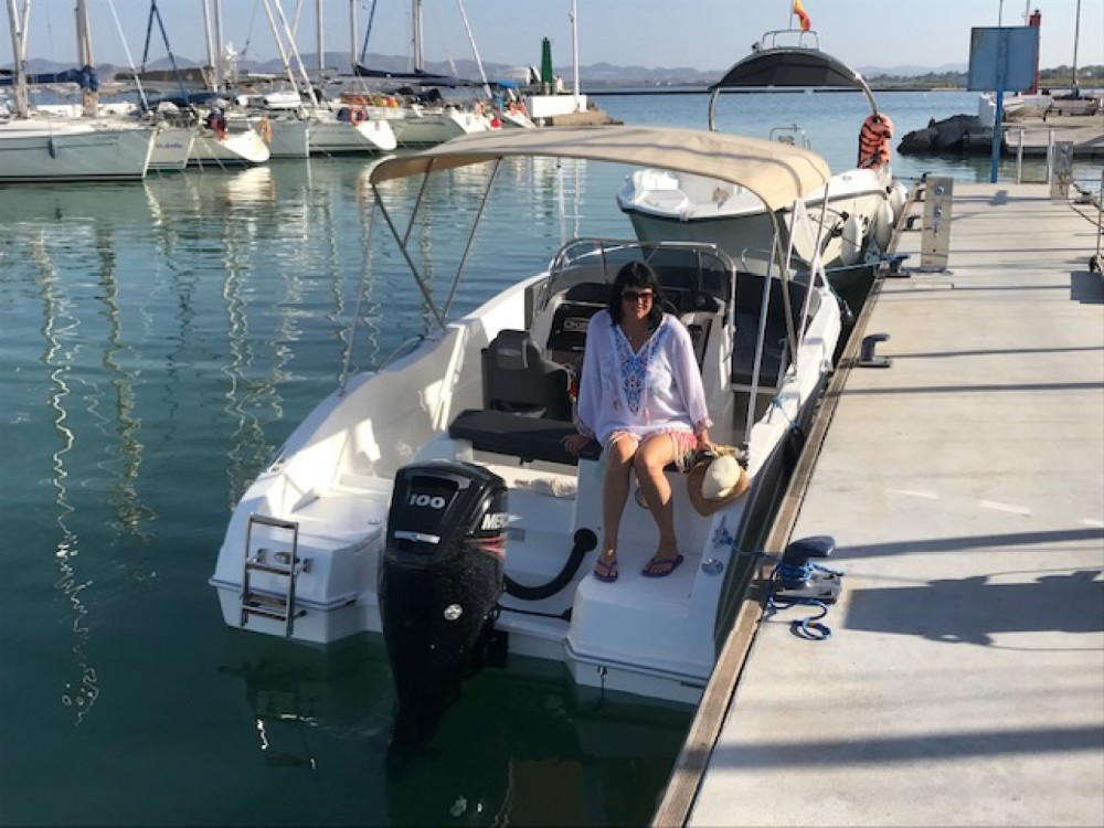 Bootverhuur Oki Boats Barracuda 545 in Los Alcázares via SamBoat