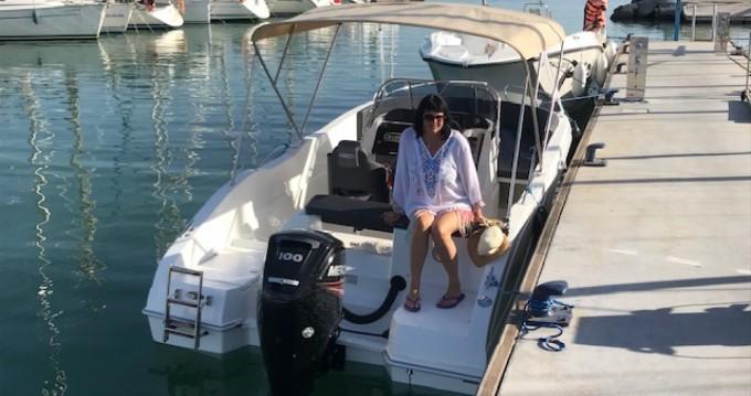 Louez un Oki Boats Barracuda 545 à La Azohía