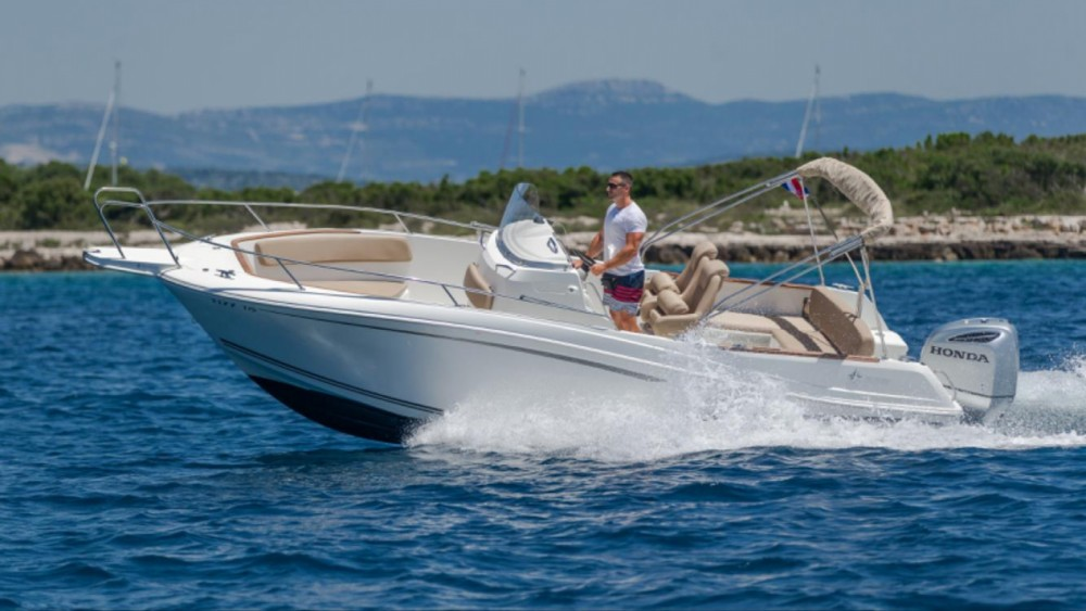 Motorboot mieten in Trau - Jeanneau Cap Camarat 7.5 CC
