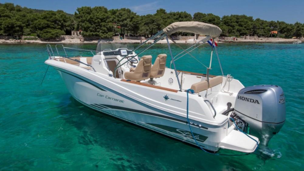 noleggio Barca a motore Traù - Jeanneau Cap Camarat 7.5 CC