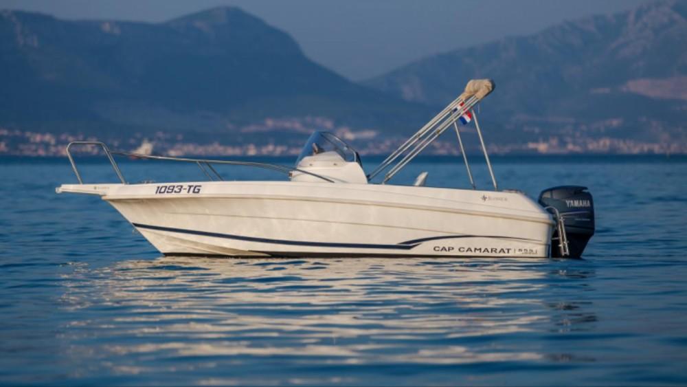 Jeanneau Cap Camarat 555 entre particuliers et professionnel à Trogir