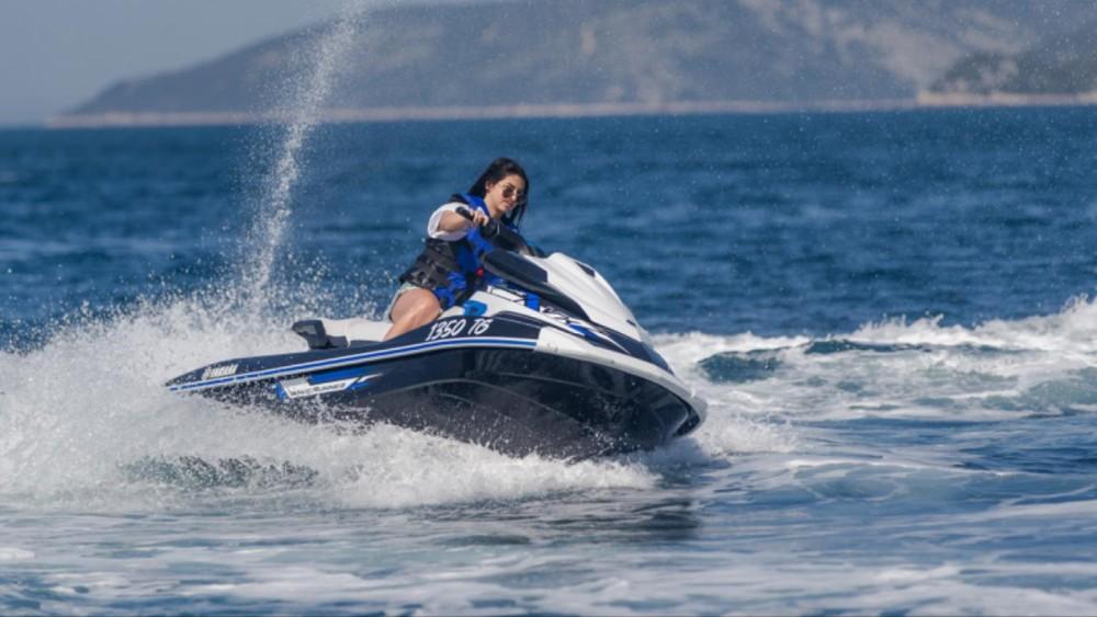 Vermietung Schlauchboot Yamaha mit Führerschein