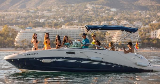 Location bateau Sea Ray Sea Ray 260 Sundancer à Marbella sur Samboat