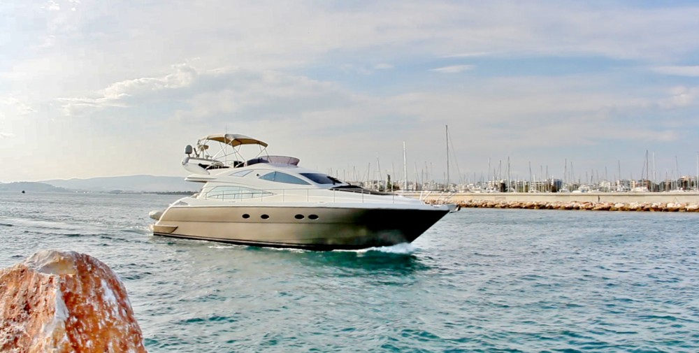 Rental Motor boat in Athens - Aicon Aicon 56 Fly