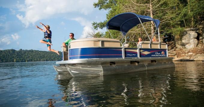 Louez un Sun Tracker Party Barge 22 DLX à Porto