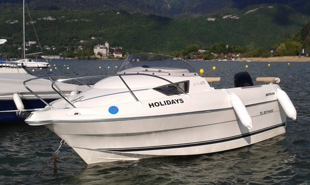 Rental Motor boat in Duingt - Quicksilver 4.70 cabine