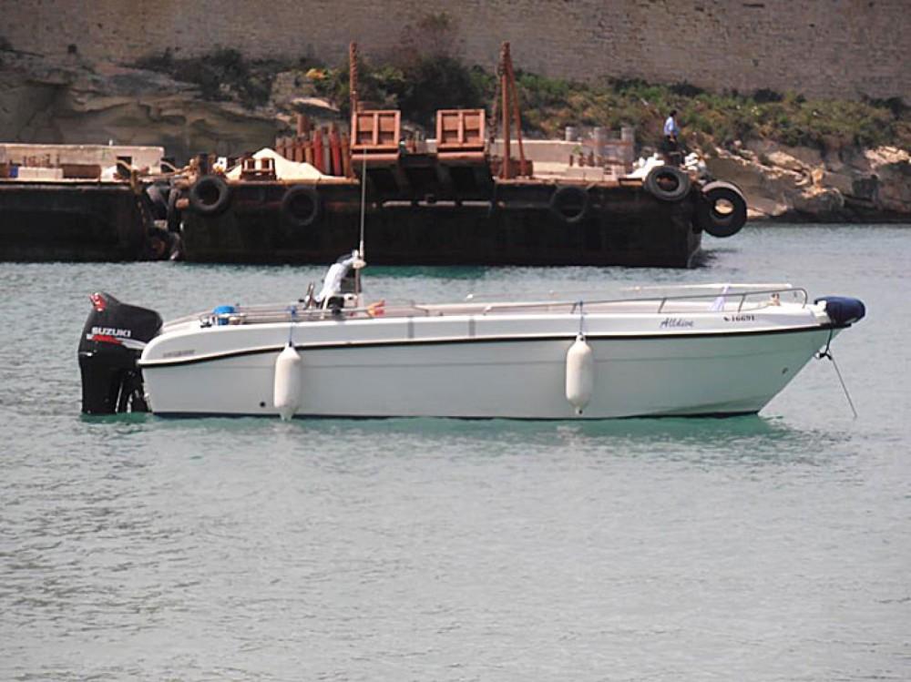 Huur Motorboot met of zonder schipper Buccaneer in Malta