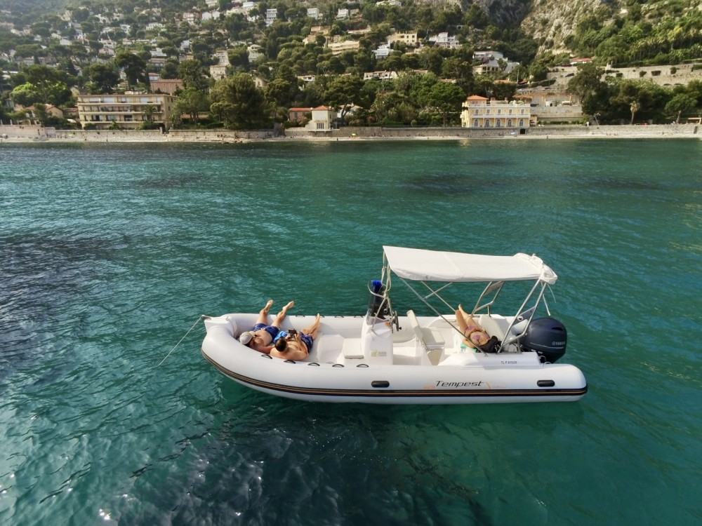 Rental RIB in Saint-Jean-Cap-Ferrat - Capelli Tempest 625 Easy