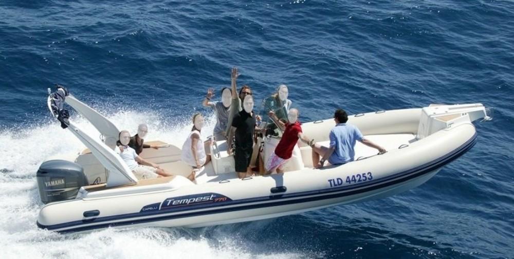 Location bateau Capelli Capelli 770 à Sainte-Maxime sur Samboat