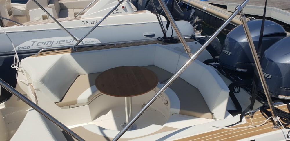 Huur Rubberboot met of zonder schipper Capelli in Cavalaire-sur-Mer