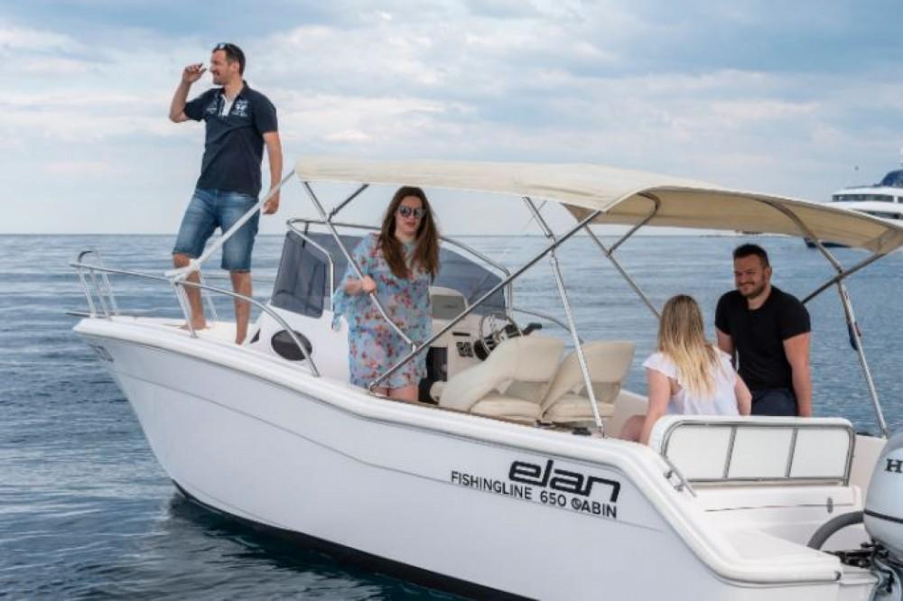 Location bateau Zadar pas cher Fishing 650 Cabin