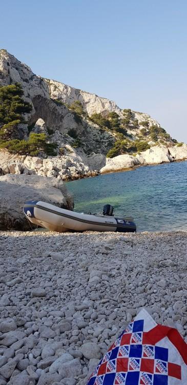 Verhuur Rubberboot in Marseille - Zodiac Cadet 340 Solid