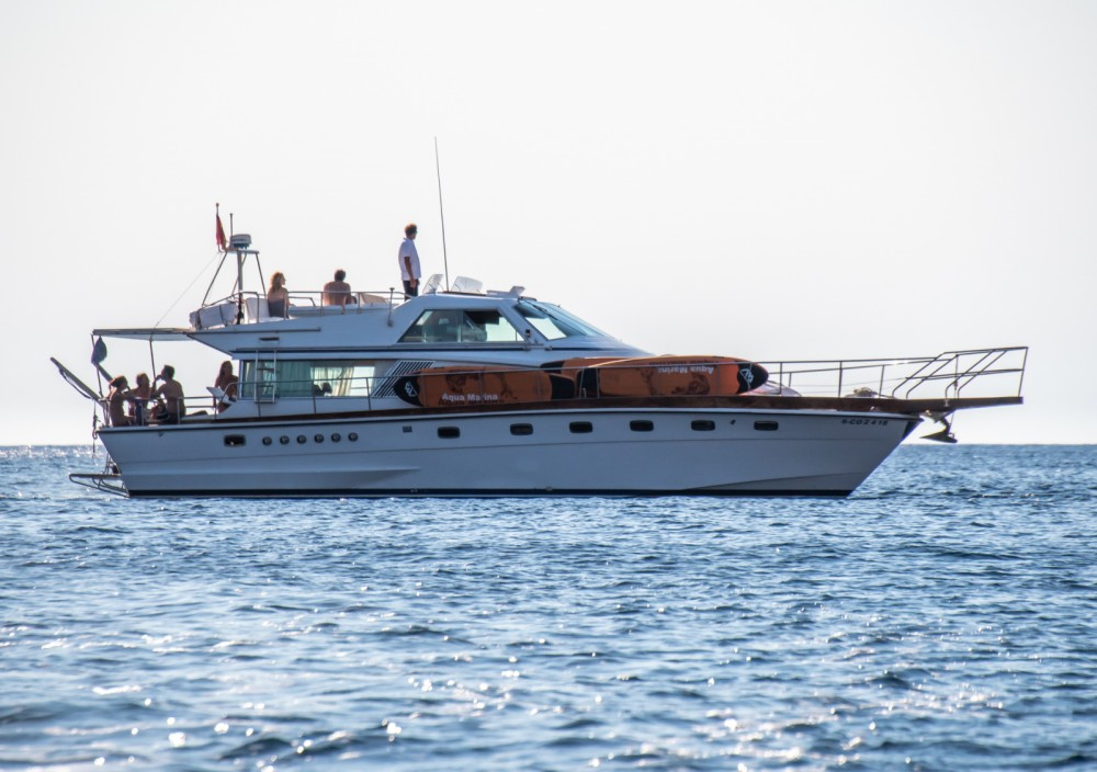 Location Yacht Cantieri navali di Chiavari avec permis