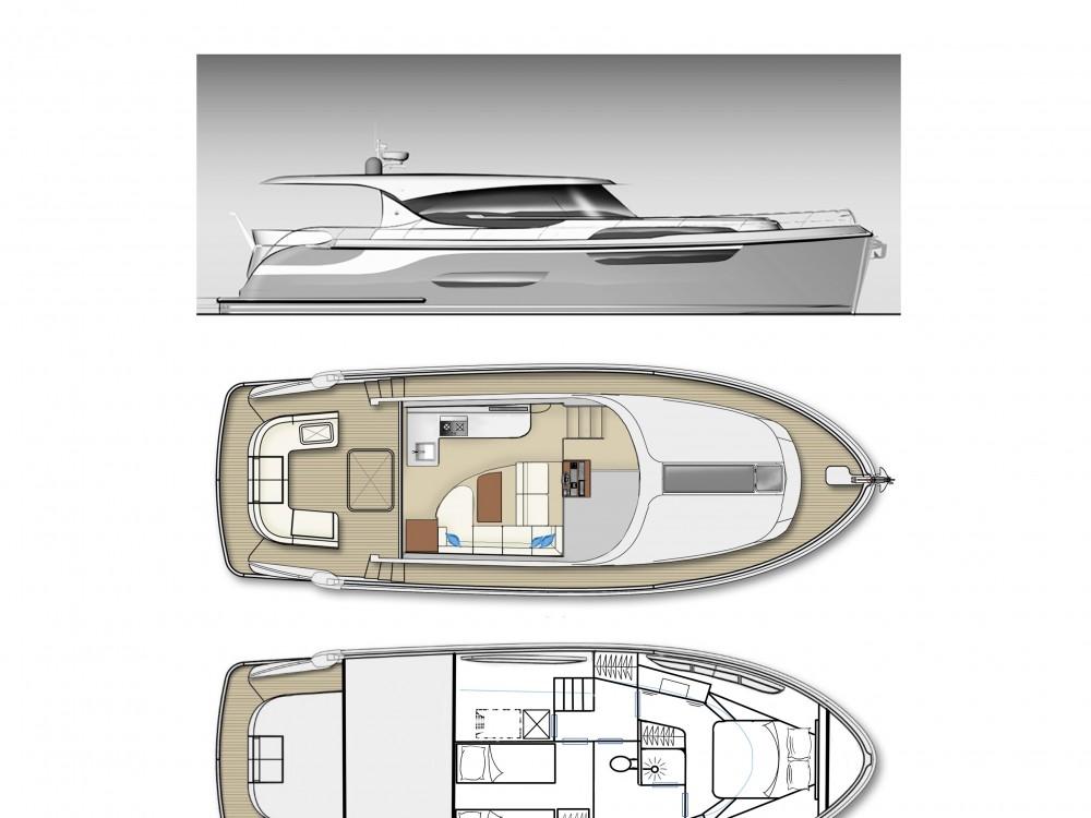 Verhuur Motorboot in Noord-Beveland -  Jetten 42 MPC