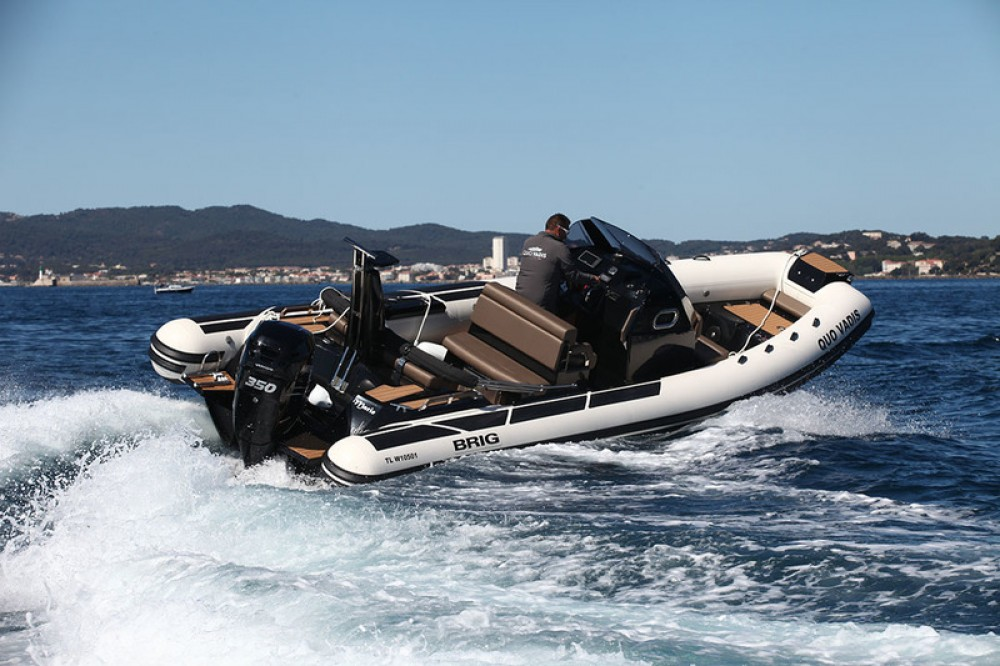 Verhuur Rubberboot in Canet-en-Roussillon - Brig Eagle 8