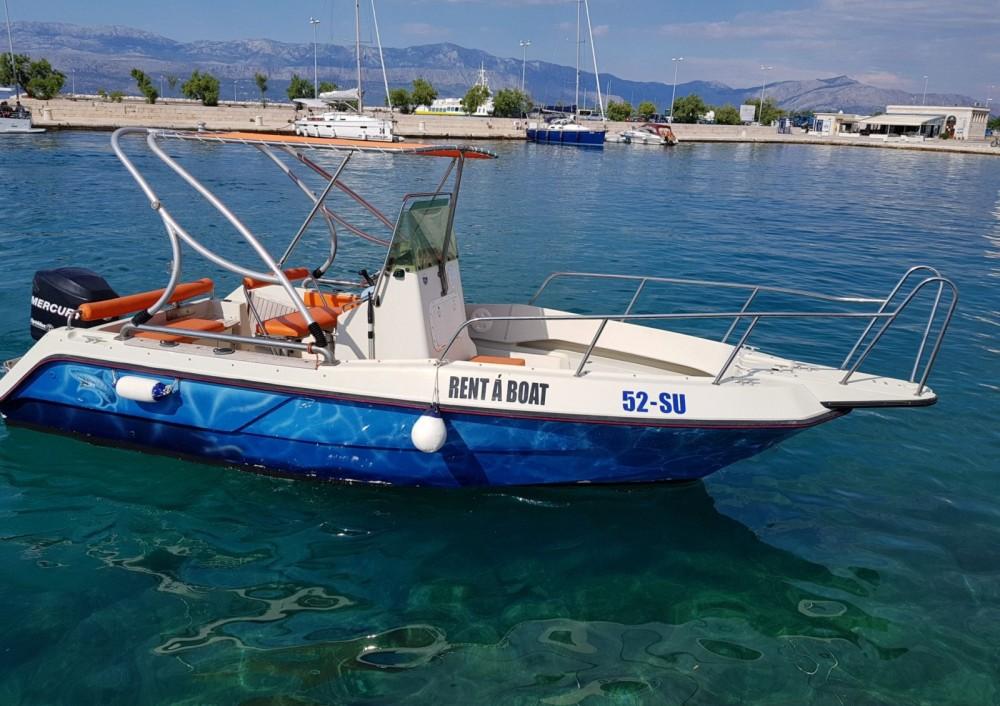 Location Bateau à moteur à Supetar - Elan Fisherman 20 CC