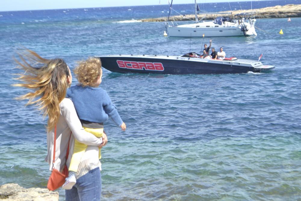 Location yacht à Sant Antoni de Portmany - Wellcraft Scarab 38 sur SamBoat
