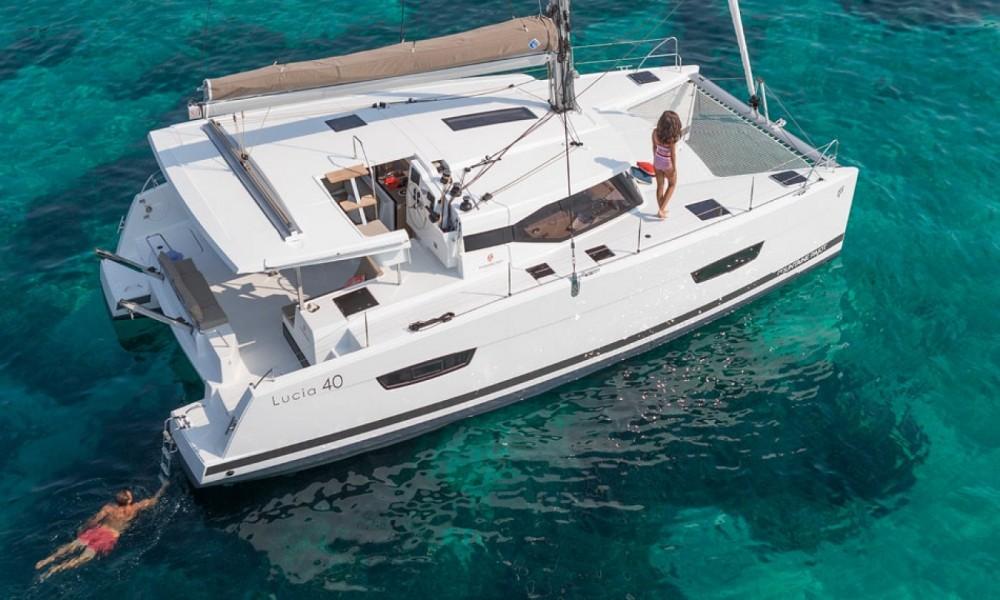 Rental Catamaran in Dubrovnik - Fountaine Pajot Fountaine Pajot