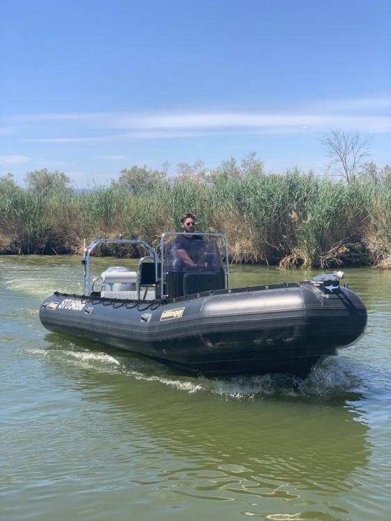 Verhuur Rubberboot Sillinger met vaarbewijs