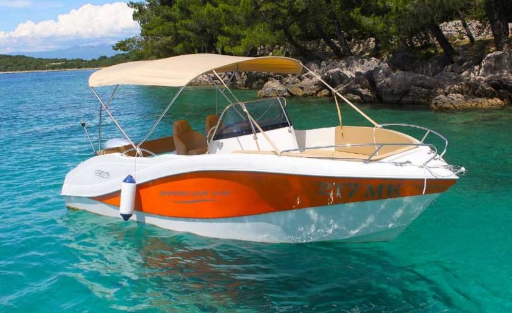 Location bateau Malinska pas cher Barracuda 545 Open