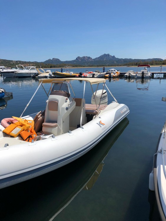 Hire RIB with or without skipper Kardis Porto Rotondo