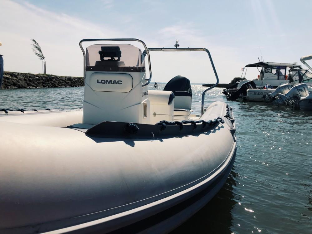Location bateau Arcachon pas cher Lomac 600 IN