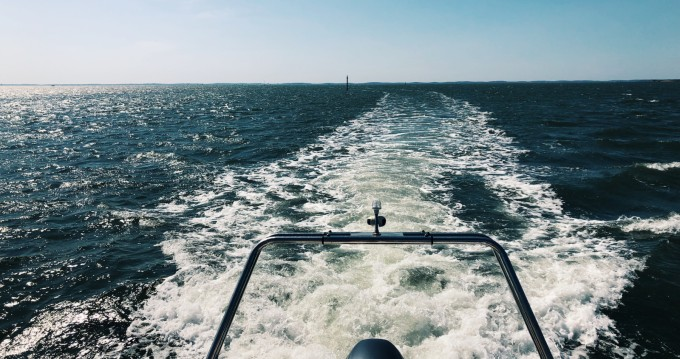 Louer Semi-rigide avec ou sans skipper Lomac à Arcachon