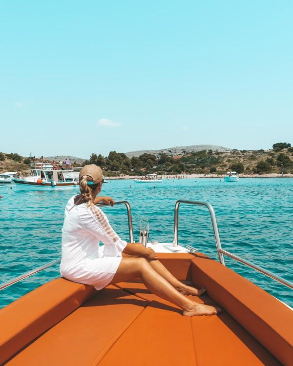 Location bateau Grad Zadar pas cher 28 T-Top