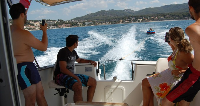 Location Bateau à moteur à Bandol - Bénéteau Antares 700 Fishing